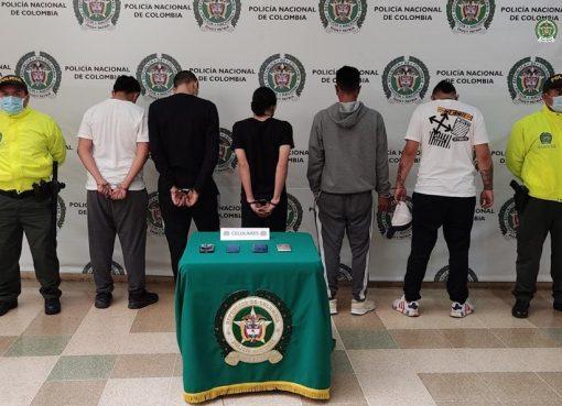 A la cárcel 5 presuntos integrantes de la desarticulada organización delincuencial La Escalera