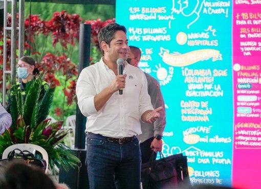 En el Parque del café se firmó el pacto por los juegos nacionales y paranacionales 2023