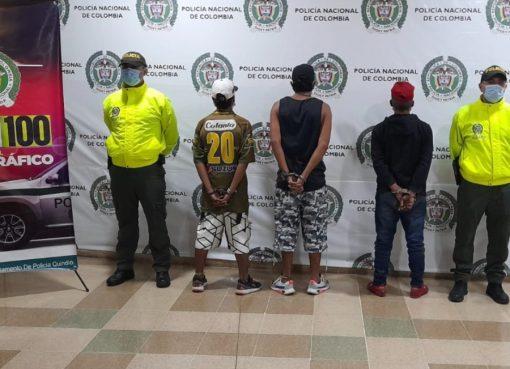 A la cárcel integrantes de 'Los Occidentales' señalados del tráfico de drogas en Bosque de Pinares